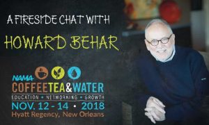 behar graphic 300x180 - IT'S NOT ABOUT THE COFFEE: HOWARD BEHAR TO KEYNOTE CTW 2018
