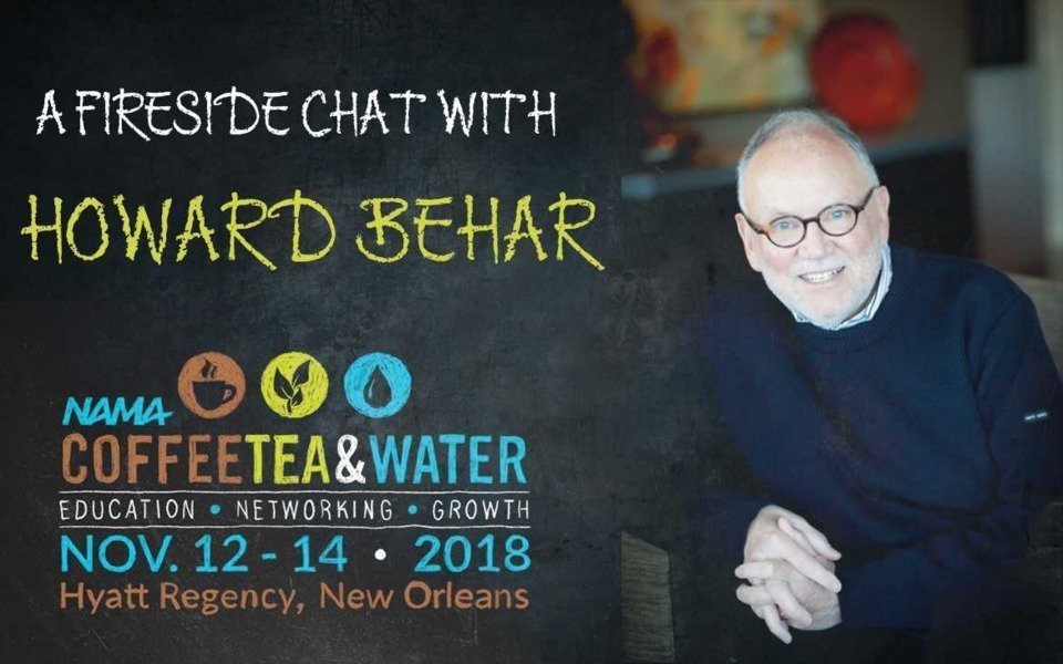 behar graphic - IT'S NOT ABOUT THE COFFEE: HOWARD BEHAR TO KEYNOTE CTW 2018