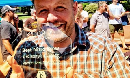"Riff Cold Brewed Coffee Nate Armbrust Cold Brew Fest Best Nitro 450x270 - Riff Wins Cold Brew Fest's ""Best Nitro"""