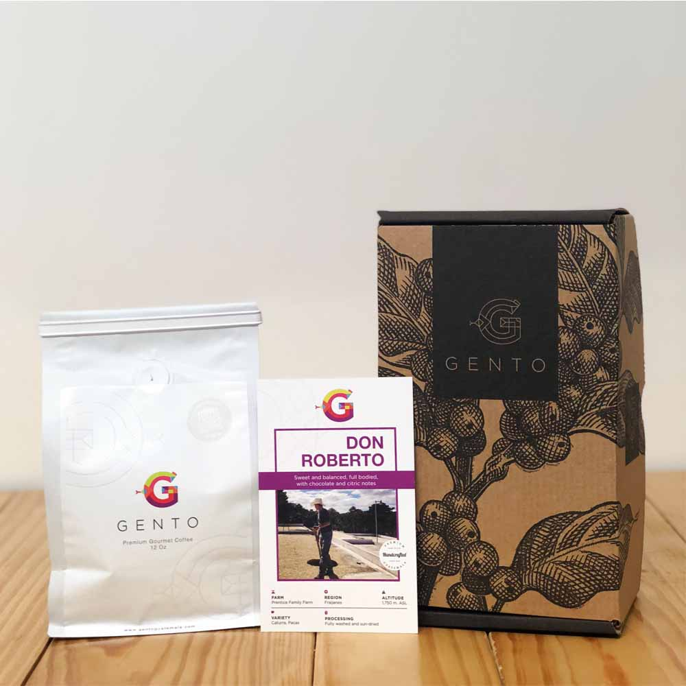 Ashley Prentice DonRobertoCaja1200x1200 - Gento Coffee Presents Freshly Roasted Coffee Delivered From Guatemala To Your Door