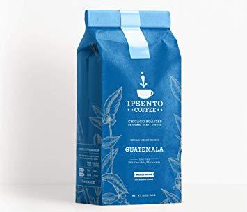 Rocco Schettini large IPSENTO Bag Mockup GUATAMALA WHOLE 12oz - IPSENTO Coffee - The Journey Begins