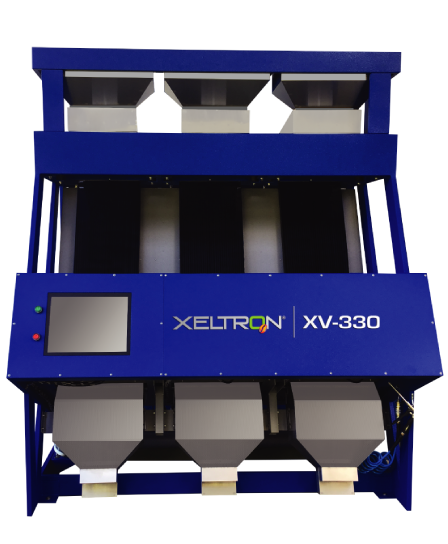 XV 330 - BEST Camera Sorter in the Market: Xeltron's XV Model. High Production, Small Footprint, Excellent Sort