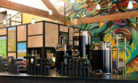 Paul Evers Riff Taproom 181211 450x270 - Riff Cold Brewed Coffee Opens Innovative Taproom