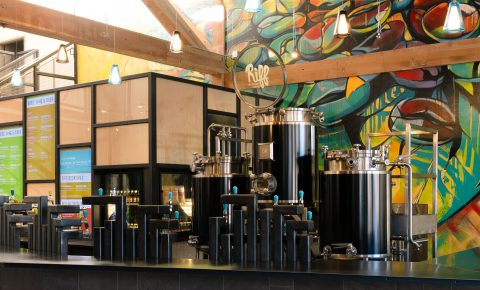 Paul Evers Riff Taproom 181211 - Riff Cold Brewed Coffee Opens Innovative Taproom