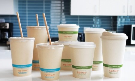 Heather Tidwell World Centric NoTree Hot Cup 450x270 - World Centric® Announces NoTree™, The First Hot Cups and Bowls Made from 100% Sugarcane Paper