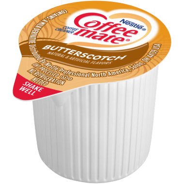 CML Butterscotch ProductShot 3x3 v1b - Coffee-mate® Introduces Butterscotch Liquid Creamer Singles