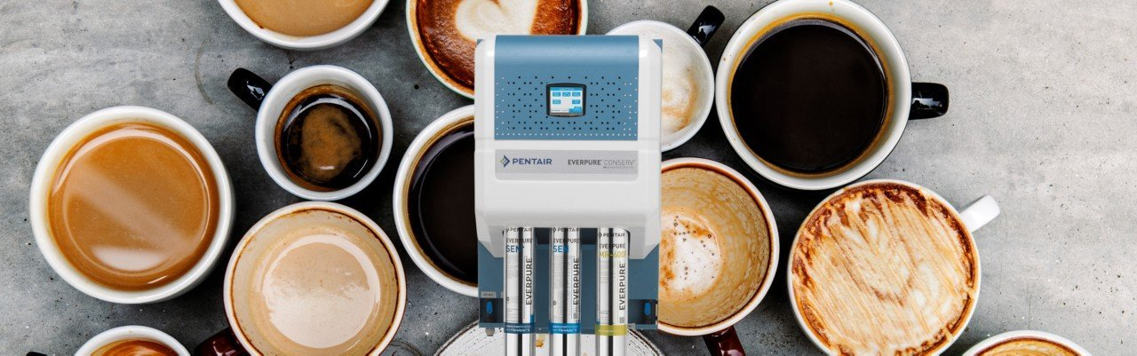 Pentair Everpure HE3 RO System MY19 - Reverse Osmosis Is Reimagined With The Pentair Everpure® Conserv® HE-3 System