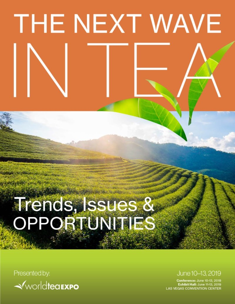 WTE 2019 White Paper Cover Image - World Tea Expo Publishes New White Paper, 'The Next Wave in Tea'
