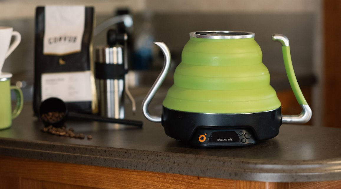 Screenshot 2019 06 11 13.29.07 - Nomad Joe Introduces Voyager Kettle, A Portable, Collapsible Electric Kettle For Quality Coffee On The Go