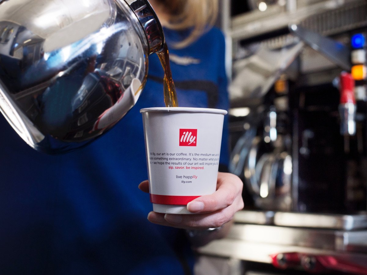 """Illy 2Sheet Single Good 46x60 - Illy Inspires San Francisco With """"LIVEHAPPilly"""" Campaign: """"A Never-Ending Story To Offer The World Our Very Best"""""""