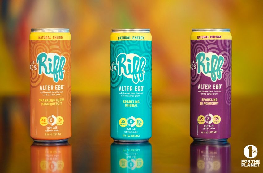 Riff Capitalizes on Quick Success of Its Alter Ego Upcycled Natural Energy Drink With Two Flavor Extensions