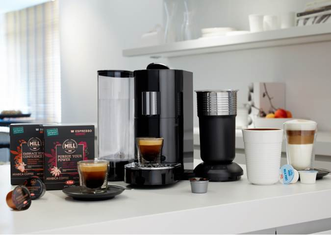 Following a Strong Partnership with Starbucks Verismo*, K-fee Now Launches Its Premium Coffee & Espresso Makers and Pods in the U.S. at Bed, Bath & Beyond and Amazon