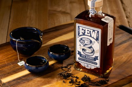 "FEW Spirits And The Tea Spot Team-Up For FEW Immortal Rye Whiskey With ""8 Immortals"" Tea"