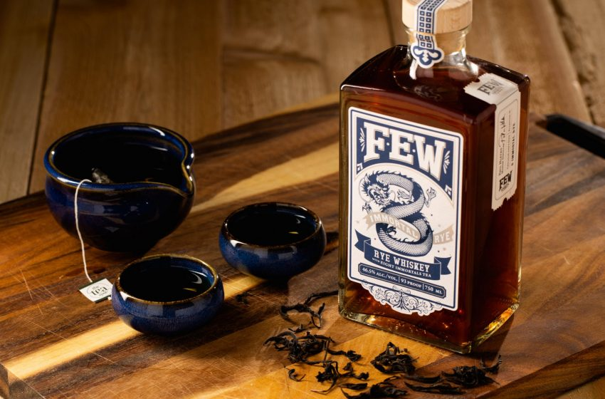 """FEW Spirits And The Tea Spot Team-Up For FEW Immortal Rye Whiskey With """"8 Immortals"""" Tea"""