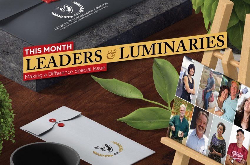 Leaders & Luminaries 2020 Issue