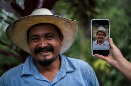 Smallholder coffee grower chosen as face of this coffee brand