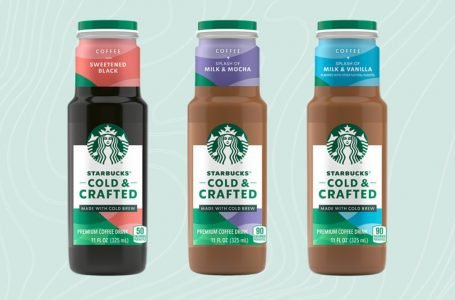 Starbucks unveils new RTD cold-brew coffee line