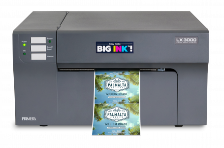 """Primera's LX3000 Color Label Printer With """"Big Ink™"""" is Announced"""