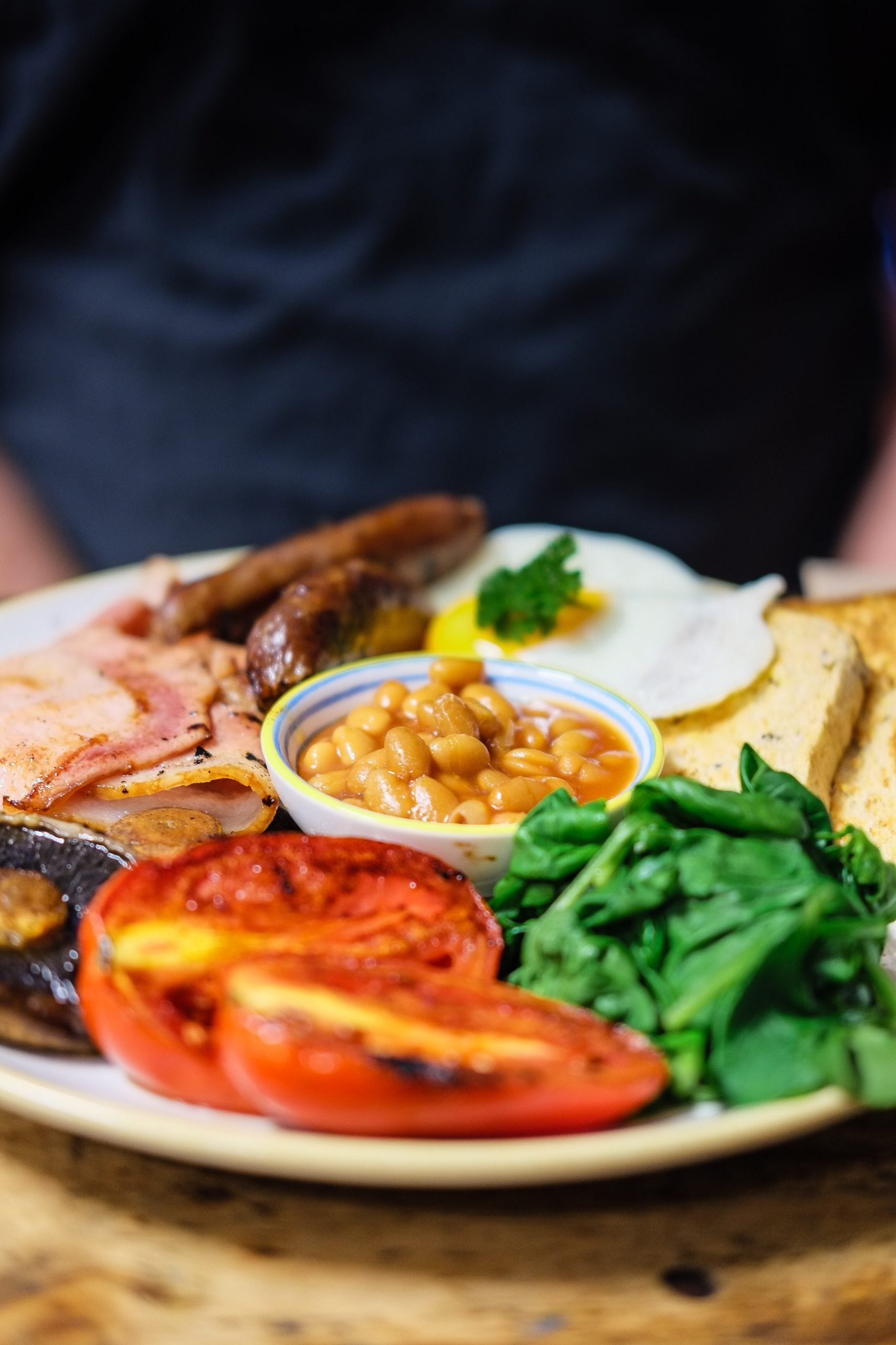 A cafe is challenging customers to eat a 17,000 calorie fry up in one hour